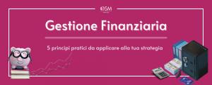 banner sulla gestione finanziaria